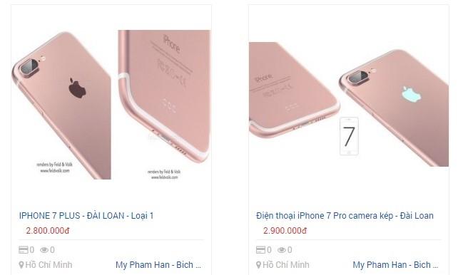 iPhone 7 hàng nhái