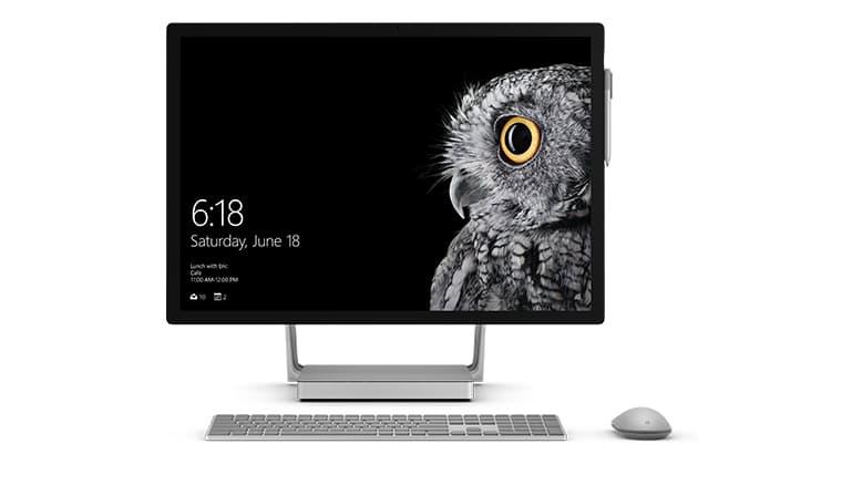 So sánh Surface Studio và iMac