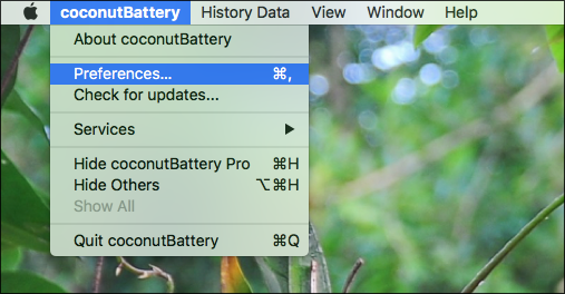 coconutbattery-Macbook