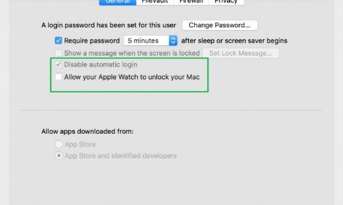 mở khóa Macbook cũ chính hãng bằng Apple Watch